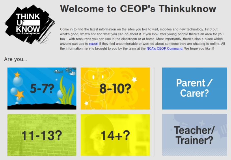 CEOP Think you know